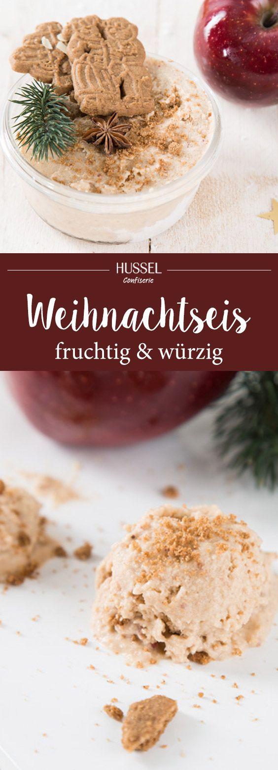 Fruchtig-würziges Weihnachtseis - Hussel Confiserie