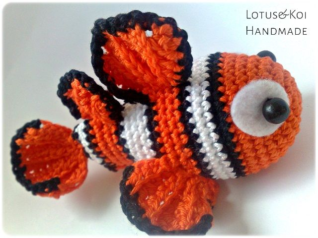 Nemo Amigurumi Tutorial : 45 best images about Crochet: under the sea on Pinterest ...
