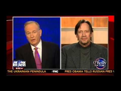 "Bill O'Reilly Interviews Kevin Sorbo (""God Is Not Dead""). I saw this movie. I loved it. I love Bill O'Reiley and Kevin Sorbo. His character ends up getting saved at the end."