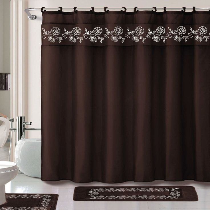 Leaves 15 Piece Shower Curtain SetBest 25  Shower curtain sets ideas on Pinterest   Bathroom shower  . Maroon Shower Curtain Set. Home Design Ideas