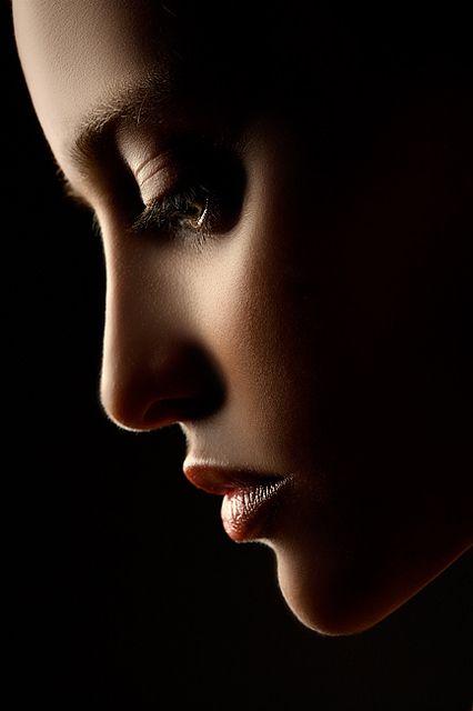 Beautiful portrait. I love the lighting.