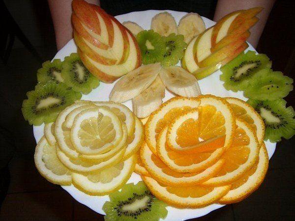 красивая нарезка фруктов - Поиск в Google