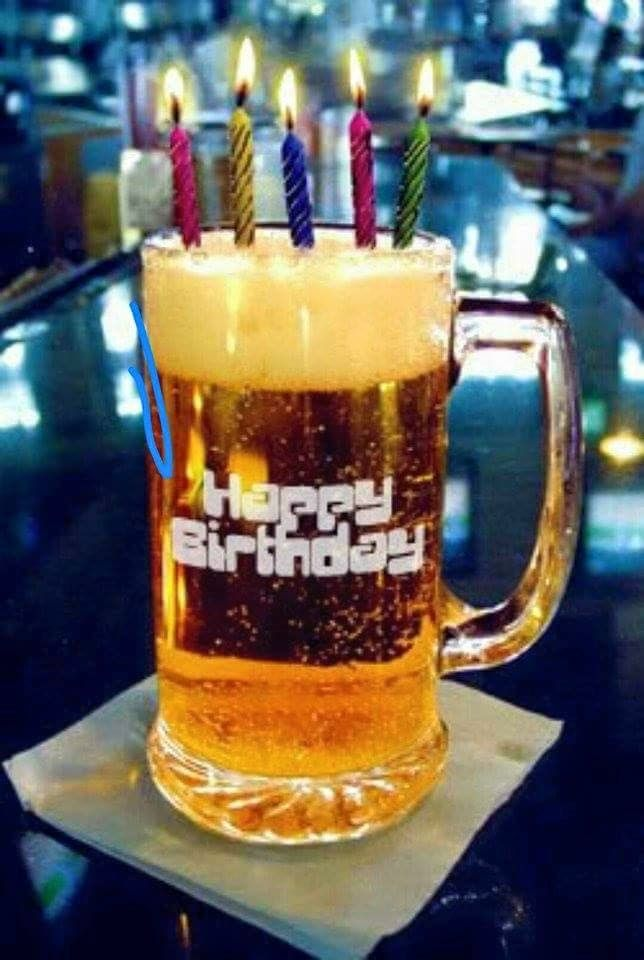 Beer mug happy birthday