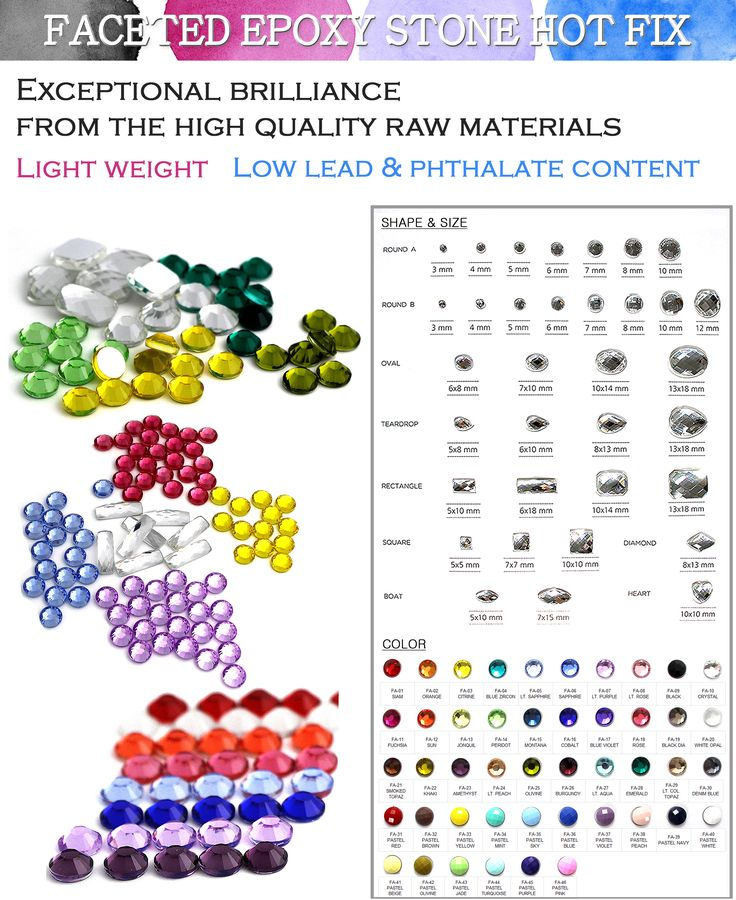 Please welcome our updated News letter of August  [Epoxy Faceted Stone Hot Fix] These cute and vivid colors of Epoxy Hot Fix, will be matched on your garments fabulously. 46 kinds of various colors! please contact us >>> info@shine-art.com