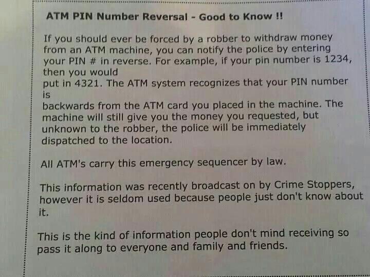 Atm robber life hack