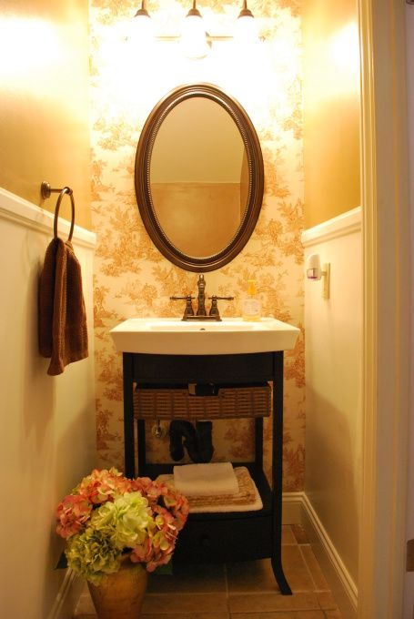 Small Powder Room Ideas French Country Powder Room A