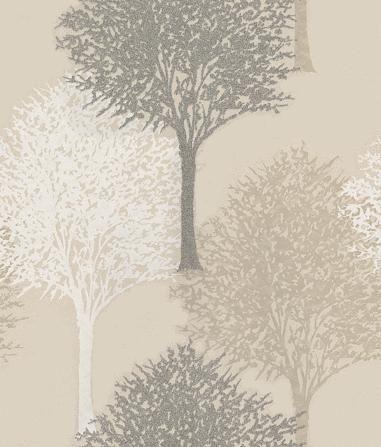 Harlequin Entice Grey / White / Beige Wallpaper main image