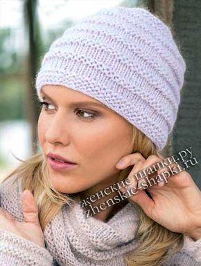 Модная женская шапка зима 2018