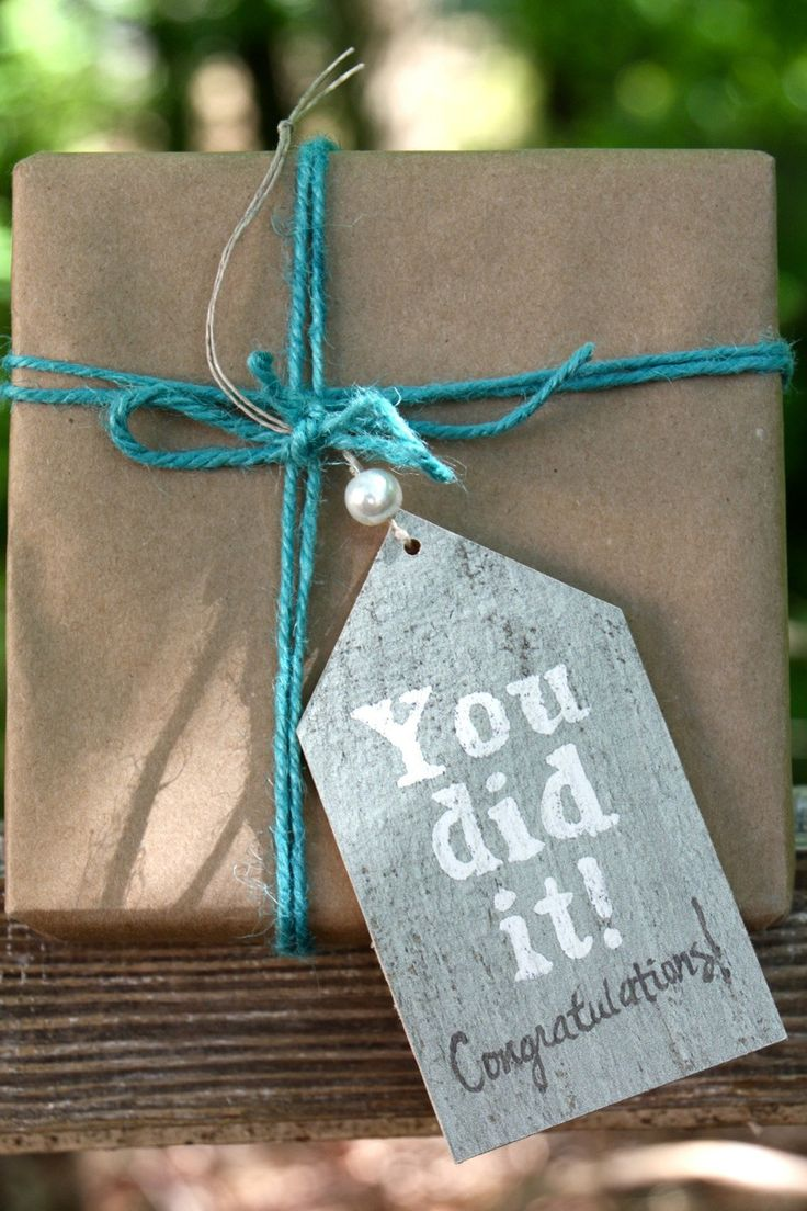 Gift Tag   You Did It