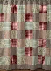 Primitive curtain idea for girls room, being creative on my machine!