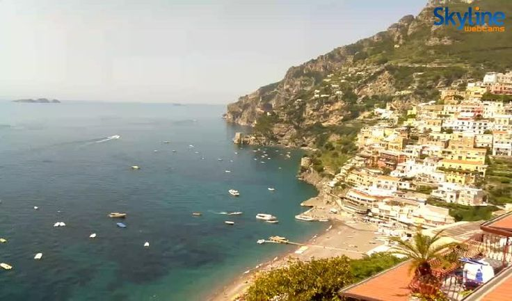 Positano Italy Live Cam. Watch this beautiful view clicking on our web site!