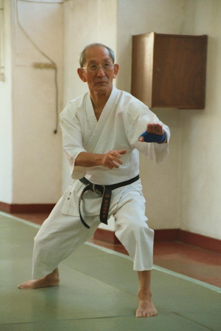 Mitsusuke Harada Sensei  Shotokai