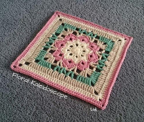 Ravelry: hrdnglynnes Floral Kaleidoscope Afghan Square ...