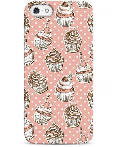 Пирожные и горошек - iPhone 5 / 5S / 5C Дизайнерские чехлы для iPhone #Sahar cases #чехлы для iPhone