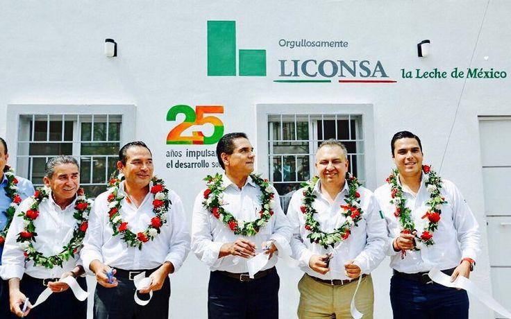 En el evento también se entregaron nuevas tarjetas de los programas de LICONSA a beneficiarios de La Piedad, así como su respectiva dotación de leche – La Piedad, Michoacán, 26 ...