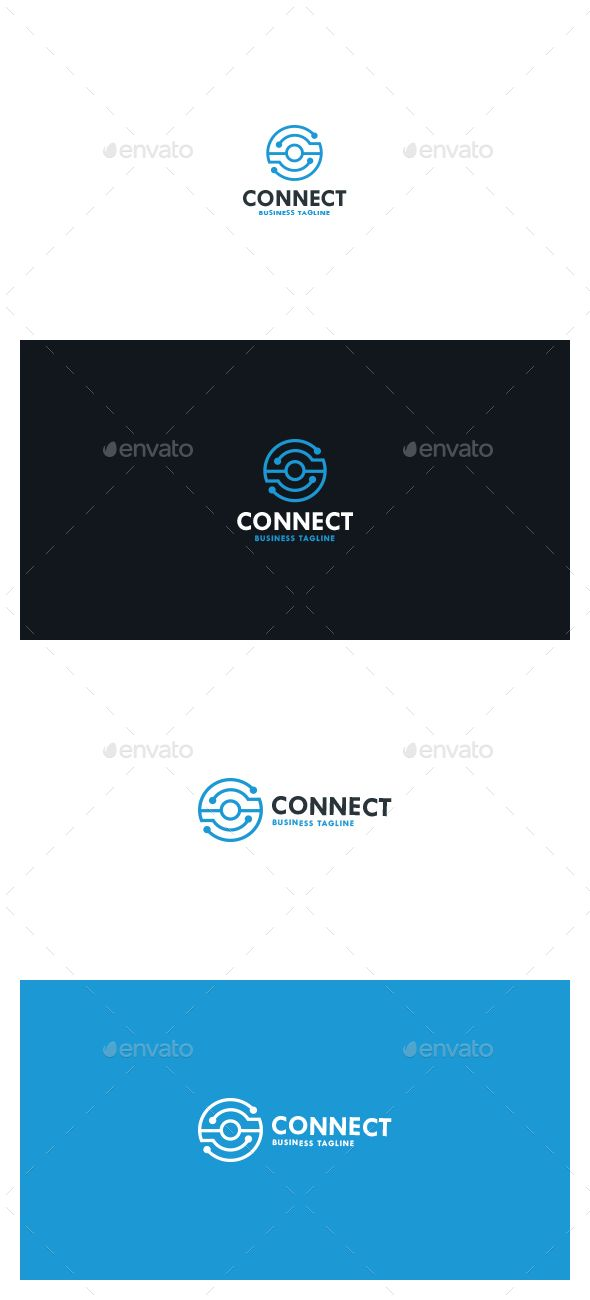 Connect Logo - Symbols Logo Templates