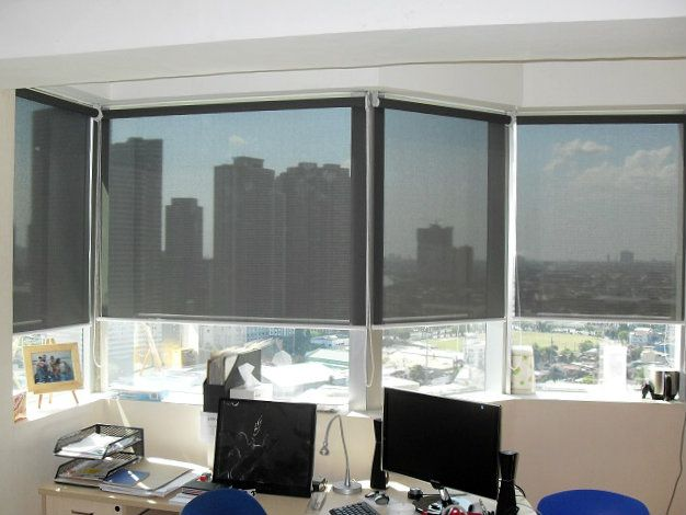 Light Filtering Roller Blinds Ideal for your Office and Home Interior Design: Makati, Metro Manila, Philippines