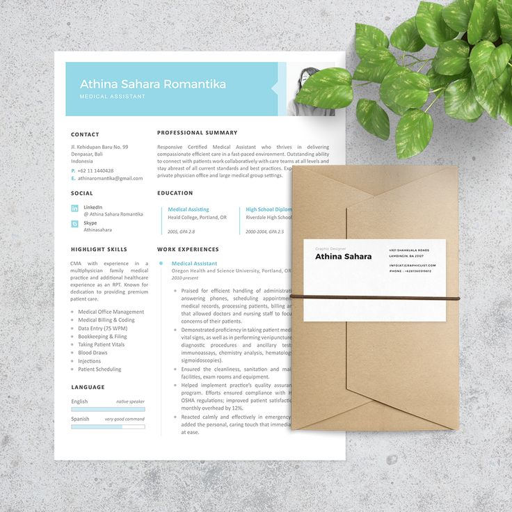 Medical Assistant Resume Template. Hello October! We have 50% off for all items ✌