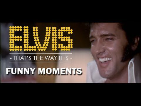 Elvis Presley - Funny Moments (1970) HD - YouTube