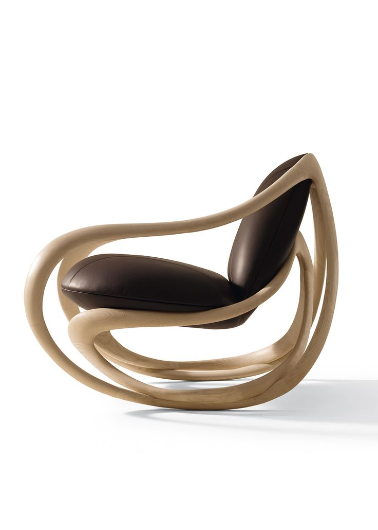 The latest from Giorgetti, the Move rocking chair by Rossella Pugliatti is a distinguished shape made of solid ash wood. The padding of the seat and backrest is a combination of compact rigid and coldfoamed flexible polyurethane covered in fibre to allow maximum comfort. Share your thoughts with us, do you think this could be another Giorgetti classic?