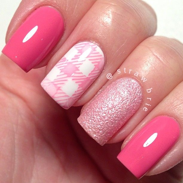 Lovely Zebra Stripe Nail Art Tall Nail Polish Nail Square Best Nail Polish For Weak Brittle Nails Chanel Nail Polish Summer 2014 Young Hello Kitty Nail Arts BrightNail Polish Colour 1000  Ideas About Plaid Nail Art On Pinterest | Plaid Nails, Nails ..