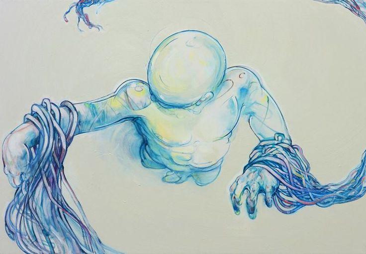 Danish artist Peter Max-Jakobsen
