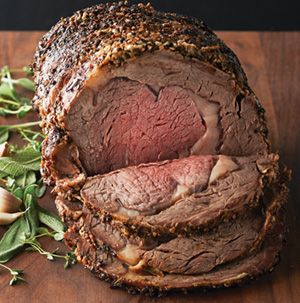 Dazzle your family this Christmas with Prime Rib with Herb and Salt Crust. It really couldn't be easier and the results are stunning - and delicious.