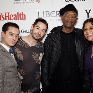 Last night we celebrated #LCM with a party co-hosted by @You Must Create & @Men's Health. Special guests included Samuel L Jackson, Tinie Tempah & David Gandy