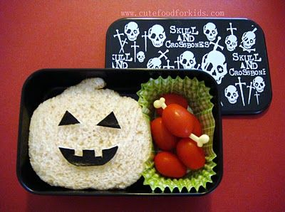Cute Food For Kids?: Halloween Sandwiche Ideas For Kids