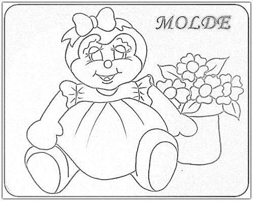 Desenhos De Abelhas E Mel