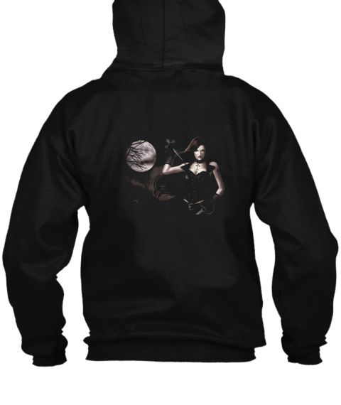 Vamp Hunter Black Sweatshirt Back