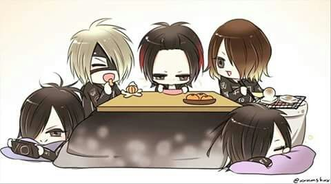 Aoi, Reita, Ruki, Kai and Uruha - the GazettE. ♥♡♥♡♥