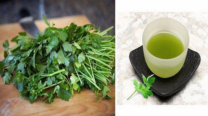 Χρήσιμες θεραπευτικές συνταγές με μαϊντανό