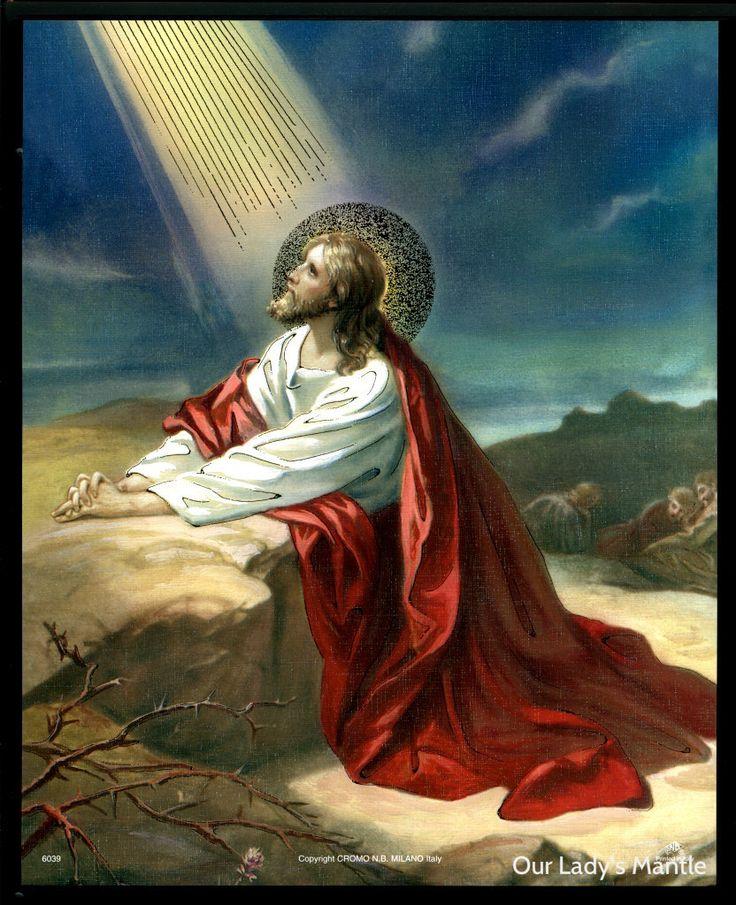 Jesus in the garden of gethsemane inspirational positive - Jesus in the garden of gethsemane ...