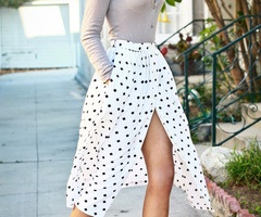 Pretty polka dots.