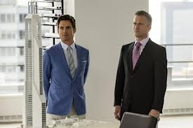 He was on White Collar with Matt Bomer in January.