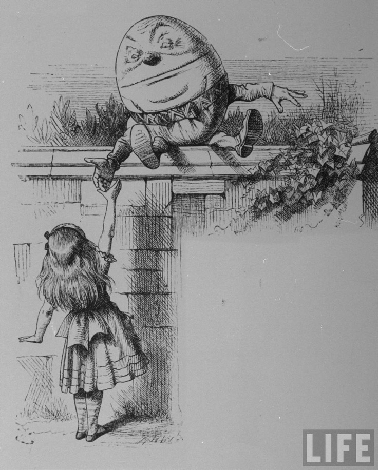 pow 14 more from lewis carroll Lewis carroll loved puns, like those about the tortoise who taught us, or the  lessons that lessen the need for any more of them he especially.