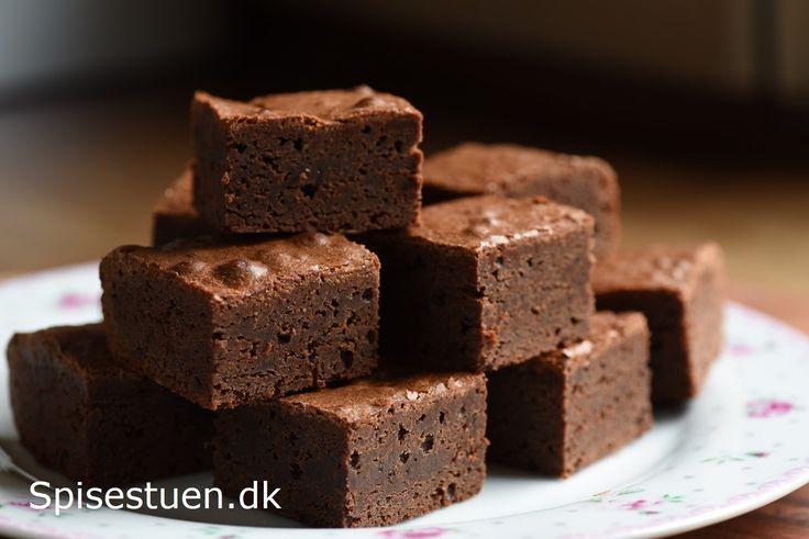 Brownie – fudgy og møglækker