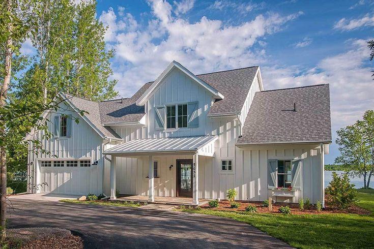 Open Layout Farmhouse House Plan - 970048VC | Architectural Designs - House Plans