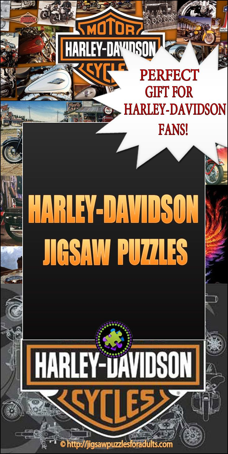 Harley Davidson Puzzles make the ideal gift for anyone who is a Harley Davidson fan. These Harley Davidson Jigsaw Puzzles are loads of fun to work on and come in different sizes,shapes and piece count.