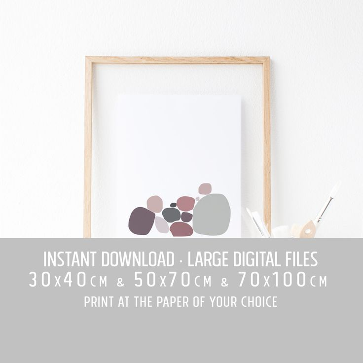 Digital print, Hotel welcome large scale print, Affiche abstrait minimaliste, office art print, greece print, 30x40cm, 50x70cm, 70x100cm by TheRoundButton on Etsy