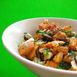 Mango & Tomato: Sweet Potatoes with Blue Cheese, Pecans and Parsley ...
