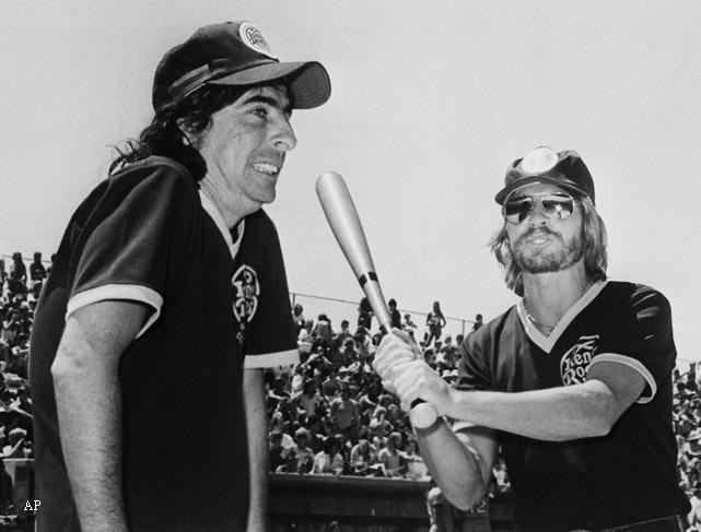 Alice Cooper & John Denver, 1977.