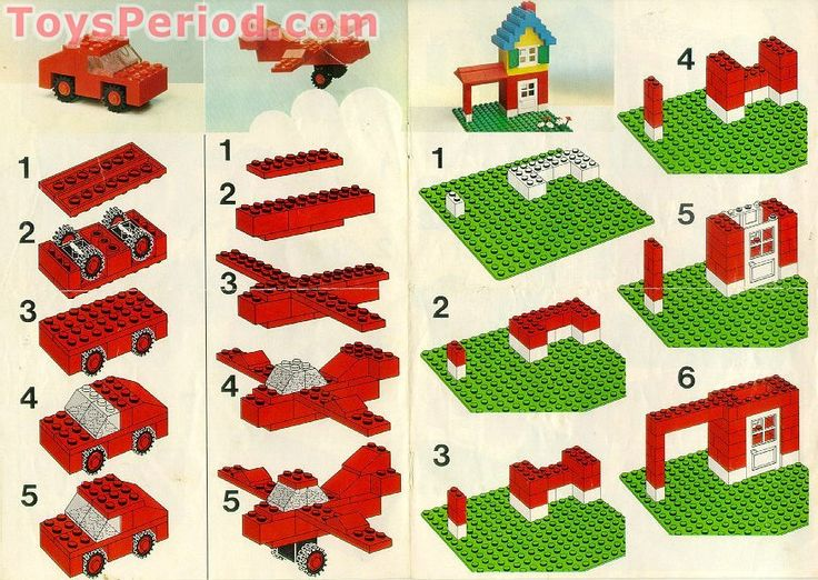 Images Of Lego House Instructions Spacehero