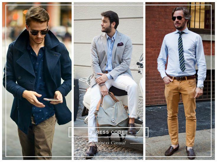 #dresscode #businesscasual #man