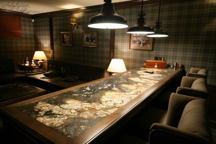 klasyczny bar - wykonanie Artystyczna Manufaktura