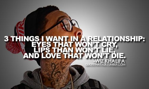 """""""3 Things I Want In A Relationship: Eyes That Won't Cry"""