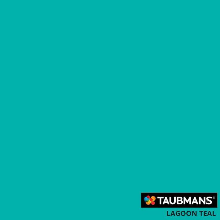 #Taubmanscolour #lagoonteal