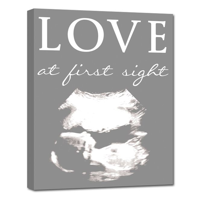 Best 25 ultrasound ideas ideas on pinterest girl ultrasound gift for new parents ultrasound photo on canvas perfect for the new parent negle Images