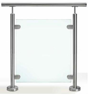 Glass w/ stainless railing and stainless posts